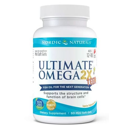 Nordic Naturals - Ultimate Omega 2X Teen 60 Count by Nordic Naturals