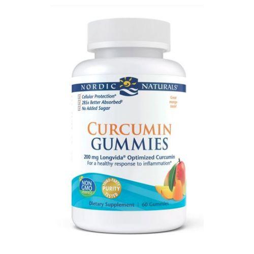 Nordic Naturals - Curcumin Gummies 60 Count by Nordic Naturals