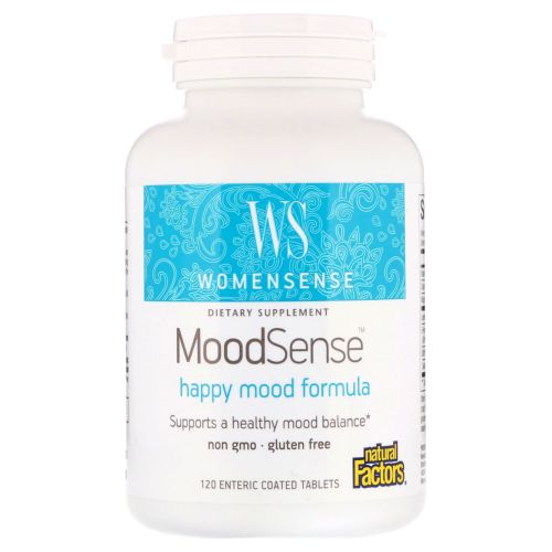 Natural Factors - MoodSense 120 Tabs by Natural Factors