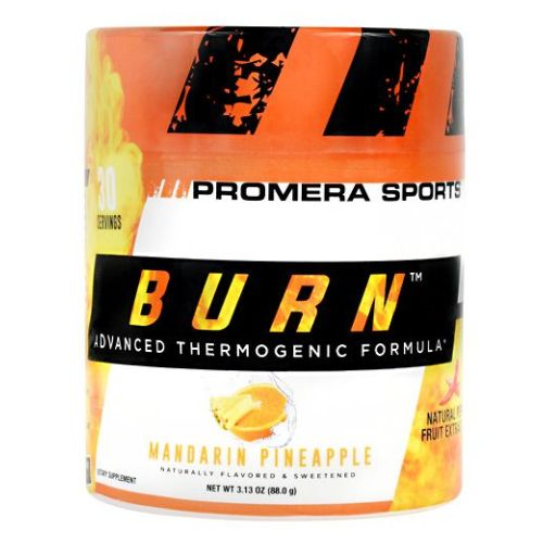 Burn Thermo Mandarin Pine 30 Servings by Con-Cret Advanced Thermogenic Formula. Natural Pepper Fruit Extract. Burn Fat And Get Lean. Naturally. Burn Is A Unique Thermogenic Supplement Scientifically Formulated To Promote Increased Metabolism And Control Appetite. Burn Is a Breakthrough Nutritional Support Formula to Optimize Your Body's Metabolism. L-Carnitine HCI Transports Fat Into The Mitochondria When It Works In Concert With Other Metabolism Promoters, Specifically PurTea (Organic Green Tea Extract), PurCaf (Organic Green Coffee Bean Caffeine), And Capsimax. Capsimax Is A Natural Fat Burning Aid, Which Helps To Deliver The Maximum Benefits From Capsaicin. They All Work Together To Create an Advanced Thermogenic Formula. The Essential Ingredient Of Burn Is Derived From Red Chili Peppers. It Is A Highly Concentrated Natural Extract Known As Capsaiciniods.Dietary SupplementNaturally Flavored & SweetenedAdvanced Thermogenic Formula