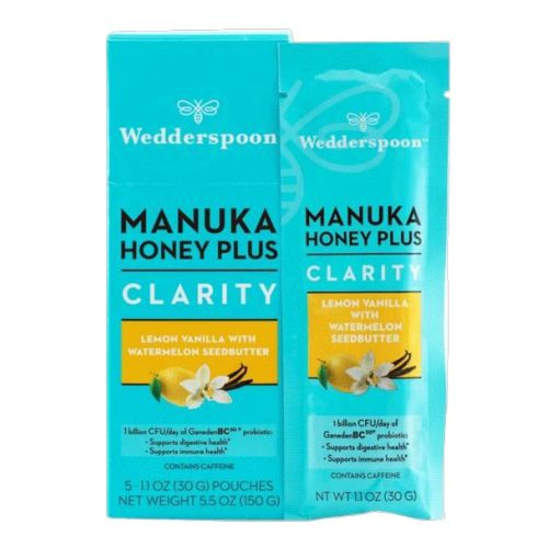 Wedderspoon - Manuka Honey Plus Clarity Lemon Vanilla 200 Grams by Wedderspoon
