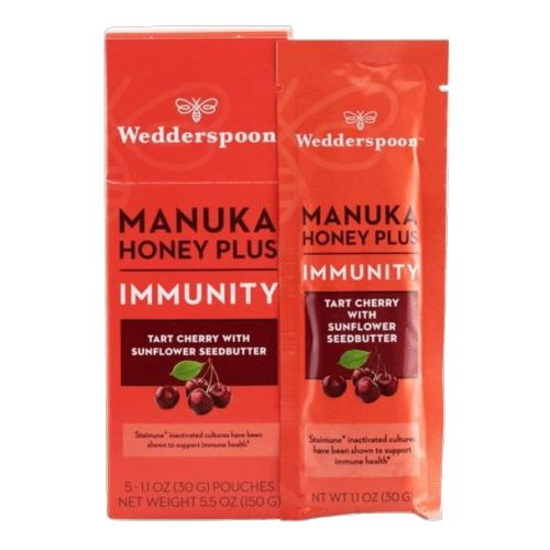 Wedderspoon - Mankuka Honey Plus Immunity Tart Cherry with Sunflower 200 Grams by Wedderspoon