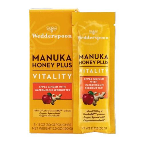 Wedderspoon - Manuka Honey Plus Vitality Apple Ginger 200 Grams by Wedderspoon
