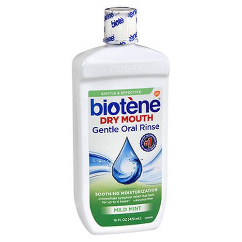 Biotene Dry Mouth Gentle Oral Rinse Mild Mint 16 Oz by Biotene