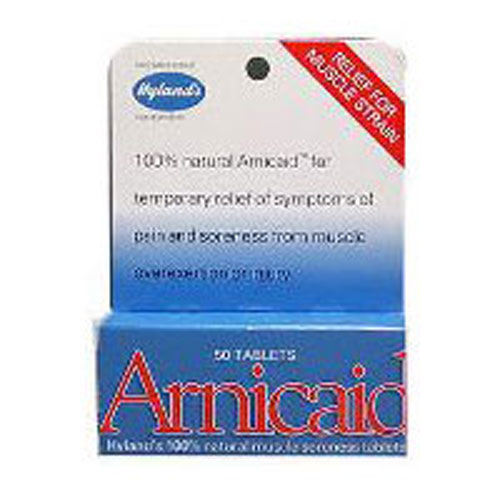 Hylands - Arnic-Aid 50 Tabs by Hylands