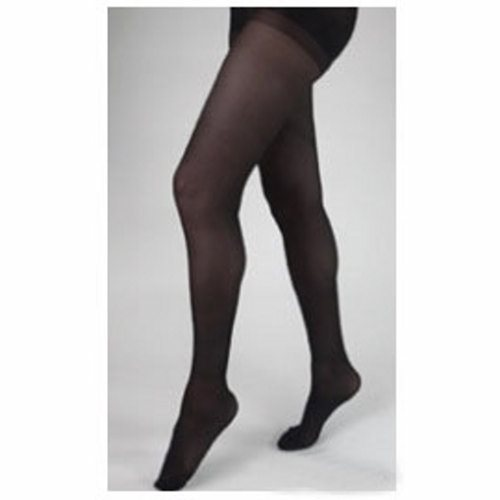 Compression Stockings Health Support Thigh High Size B / Regular Black Closed Toe - Black 1 Pair by Health Support Using a unique combination of yarns, Carolon Health support stockings provide a sheer appearance and silky feel with accurate compression profilesAll Health Support stockings and socks are shaped to fit%XE2%X80? for ultimate comfort and performanceModerate pressure helps to prevent more severe swelling and discomfortOften used after laser varicose vein and venous ablation procedures