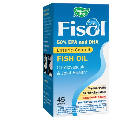 Fisol Delayed-Release Fish Oil 45 Sftgls by Nature's Way