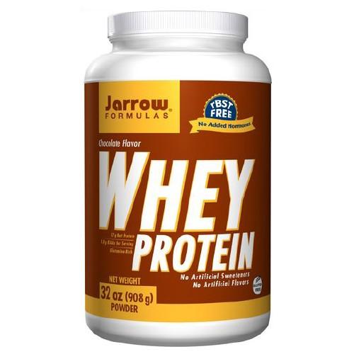 Jarrow Formulas Whey Protein Chocolate - 32 oz, 908 mg, (2 lbs)