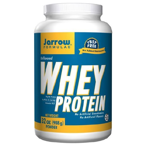 Jarrow Formulas Whey Protein All Natural - 32 oz, 908 mg, (2 lbs)