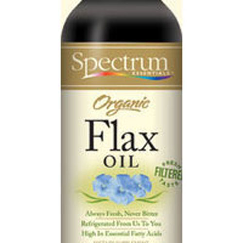 Spectrum Essentials - Flax Oil Organic Liquid OG,(REFRIGERATED), 16 OZ by Spectrum Essentials