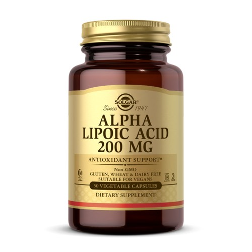 Solgar - Alpha Lipoic Acid 50 V Caps by Solgar