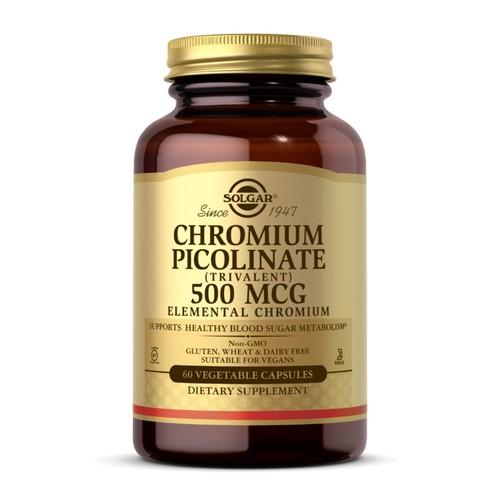 Solgar - Chromium Picolinate 120 V Caps by Solgar