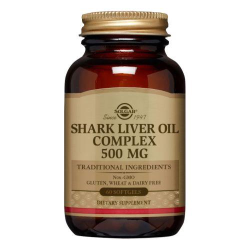 Solgar - Shark Liver Oil Complex 60 S Gels by Solgar