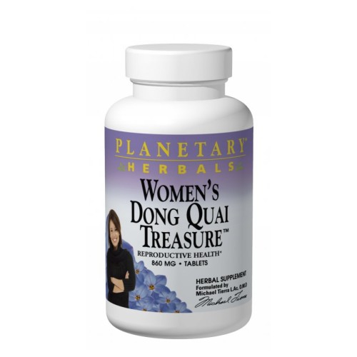 Planetary Herbals Women's Dong Quai Treasure - 120 Tabs