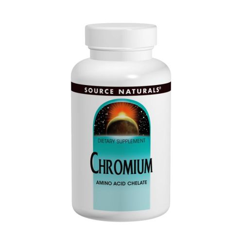 Source Naturals - Chromium Chelate 250 Tabs by Source Naturals