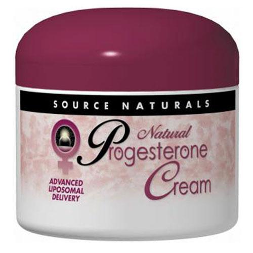 Source Naturals Progesterone Cream - 2 Oz
