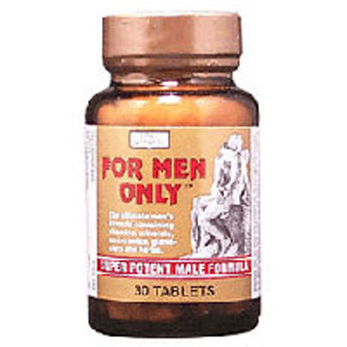 For Men Only Formula, 30 Tab by Only Natural
