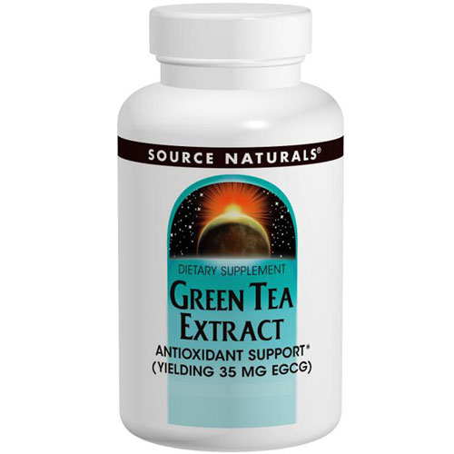Green Tea Extract 60 Tabs by Source Naturals