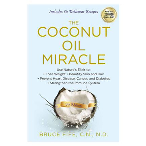 Books & Media - The Coconut Oil Miracle Fife by Books & Media