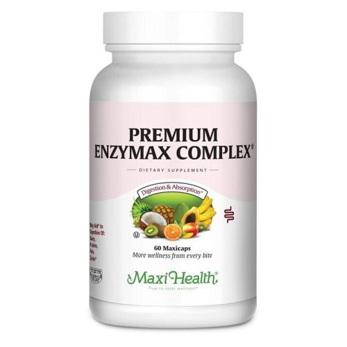 Maxi-Health Research - Premium Enzymax Complex 60 Caps by Maxi-Health Research