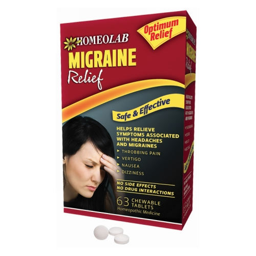 Homeolab - Migraine Relief 90 Tabs by Homeolab