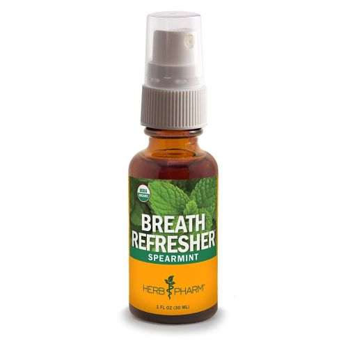 Herb Pharm Breath Refresher - Spearmint 0.47 oz