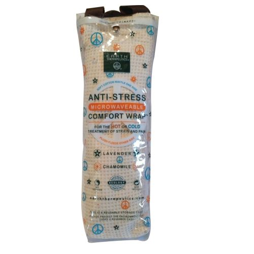 Earth Therapeutics - Anti-Stress Unscented Comfort Wrap Tan Waffle I unit by Earth Therapeutics