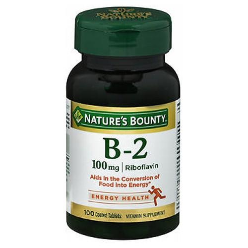 Nature's Bounty Nature's Bounty Vitamin B-2 - 100 tabs