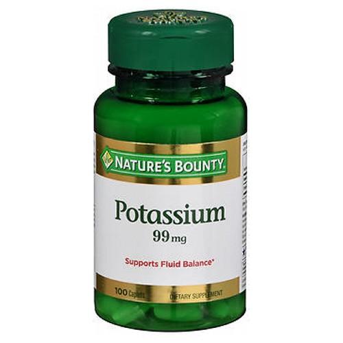 Nature's Bounty Potassium 100 Caplets by Nature's Bounty