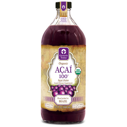 Genesis Today - Acai 100 32 OZ by Genesis Today