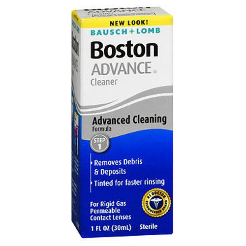 bausch and lomb boston advance contact lens