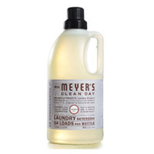 Laundry Detergent Lavender 64 oz by Mrs Meyers 2x Concentrated HòE64 Loads Per Bottle Formulated for All Washers Including High Efficiency Washing Machines. Time To Go ShoppingUncomplicated Products for a Clean and Happy Home