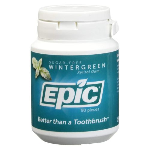 Xylitol Sweetened Gum Bubblegum 50 Count by Epic Dental