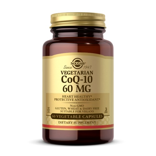 Solgar - Vegetarian CoQ-10 60 Veg Caps by Solgar