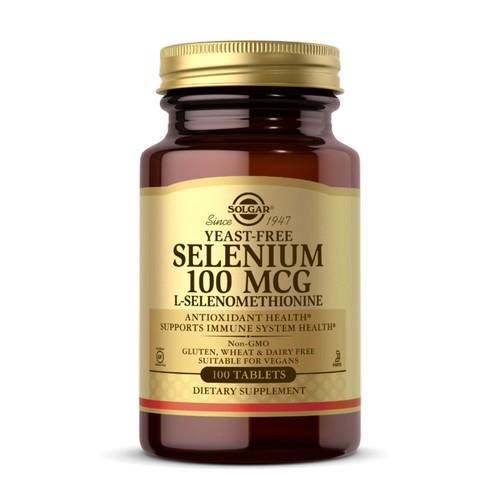 Solgar - Yeast-Free Selenium 100 Tabs by Solgar