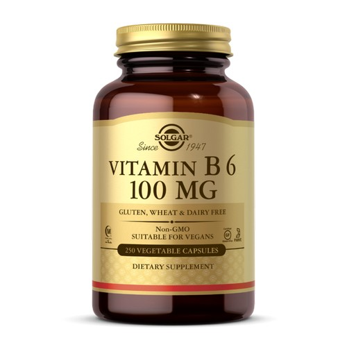 Vitamin B6 250 V Caps by Solgar