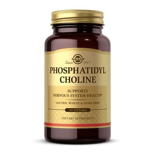 Solgar - Phosphatidylcholine Softgels 100 S Gels by Solgar