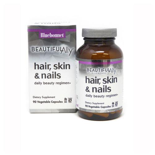 Bluebonnet Nutrition - Beautiful Ally Hair - Skin & Nails 90 Veg Caps by Bluebonnet Nutrition