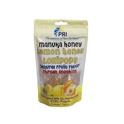 Pacific Resources - Children's Lollipops Lemon and Honey 12 COUNT/ 4 Oz by Pacific Resources