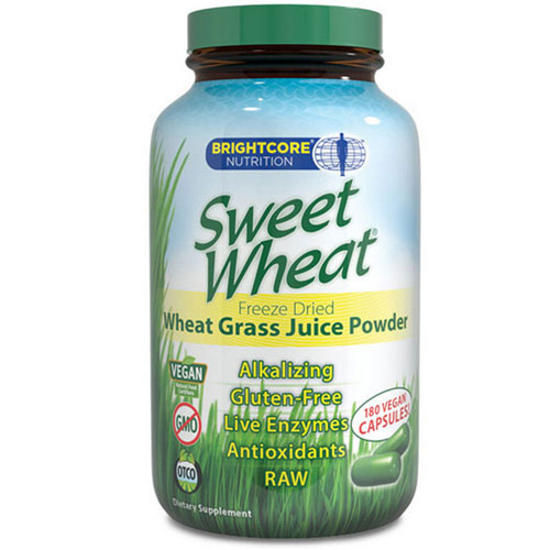 Brightcore Nutrition - Orgainc Wheat Grass Juice Powder 30 grams by Brightcore Nutrition