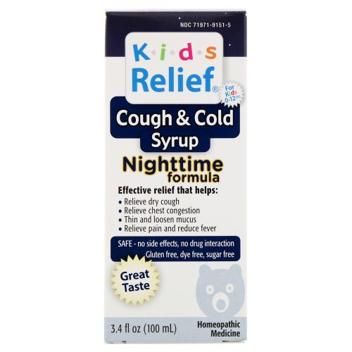 Homeolab - Kids Relief Cough and Cold Nighttime Formula 100 ml by Homeolab